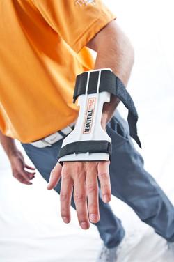 WrisTRAINER Lead Wrist Installation Shot 1