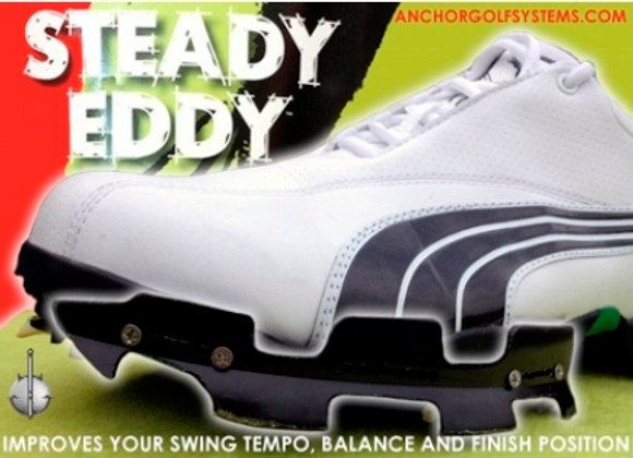 Steady Eddy Lead Foot Anchor Installed