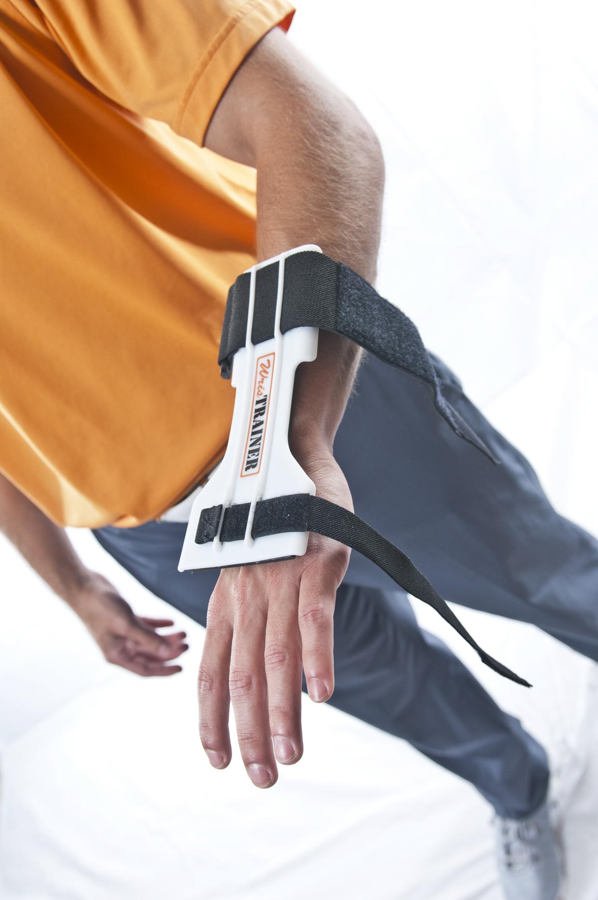 WrisTRAINER Lead Wrist Installation Shot 2