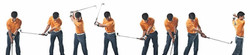 WrisTRAINER Golf Swing Sequence Head On