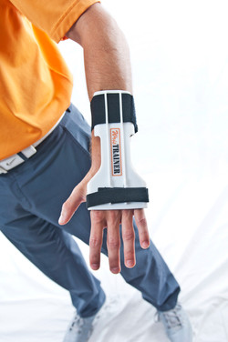 WrisTRAINER Golf Training Aid Installed