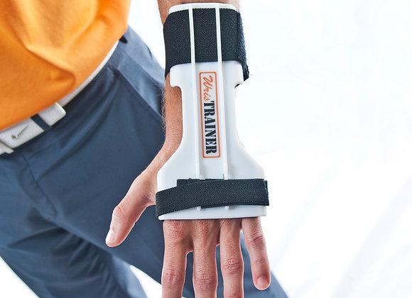 WrisTRAINER Lead Wrist Golf Training Aid on Wrist