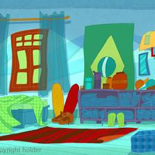 Art Director: Juninho Play e Família, webseries.