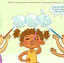 Soap Bubbles Playtime Fun