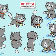 Character and Prop Designer - Clifford The Big Red Dog