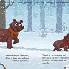 Mama Bear's Sorrow Treatment for a Sad Cub