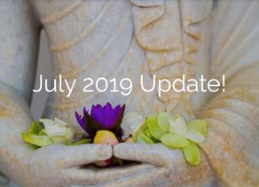 July 2019 Update!