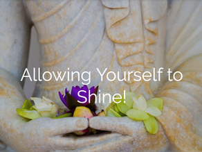 Allowing Yourself to SHINE!