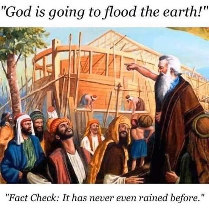 Noah was right