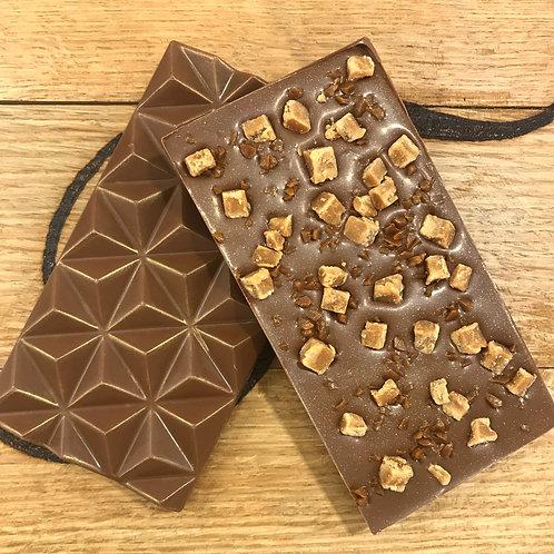 Milk Chocolate & Caramel Fudge Bar