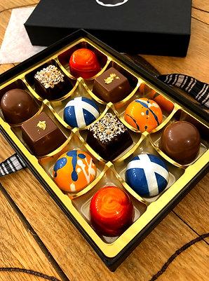 The Scottish Box (12 Chocolates)