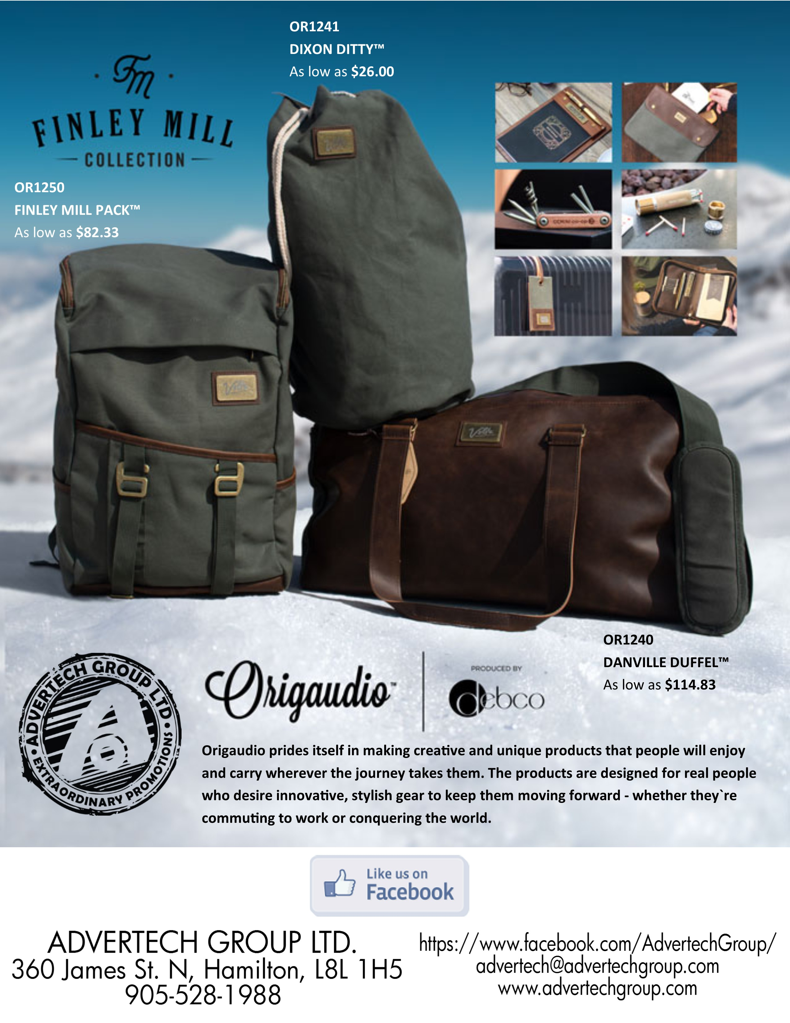 Origaudio Bags