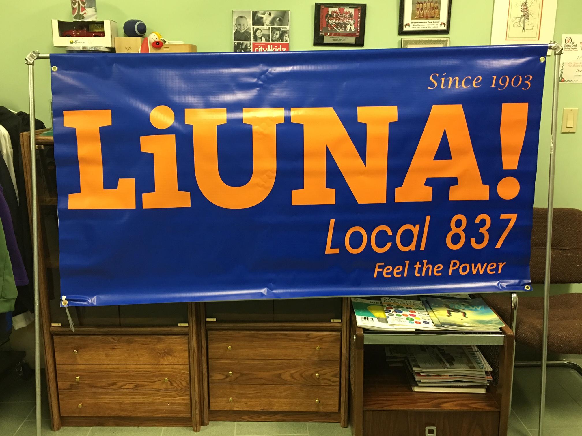 Liuna Banner