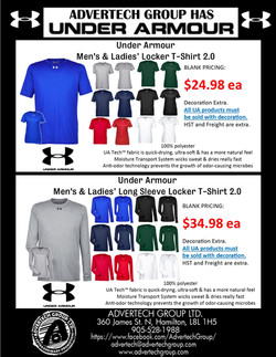 Under Armour is HERE! These T-Shirts are