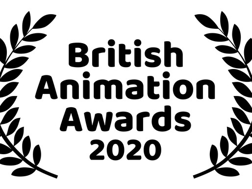 FINALISTS ANNOUNCED FOR 2020 BRITISH ANIMATION AWARDS
