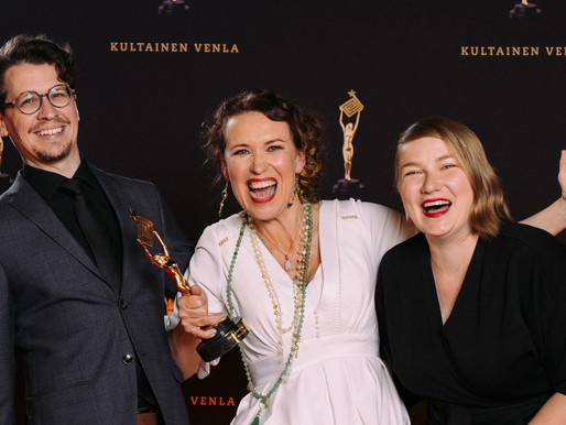 Moominvalley wins Golden Venla for the Best Children and Youth Program