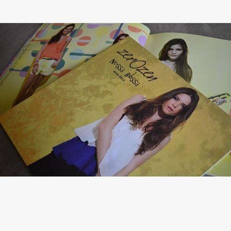 Projeto gráfico: catálogo verão 2014 Zer