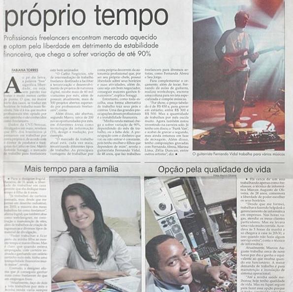 Entrevista para Jornal #OFluminense