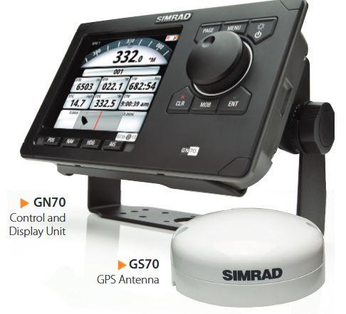 Simrad GN70 Global Navigation System