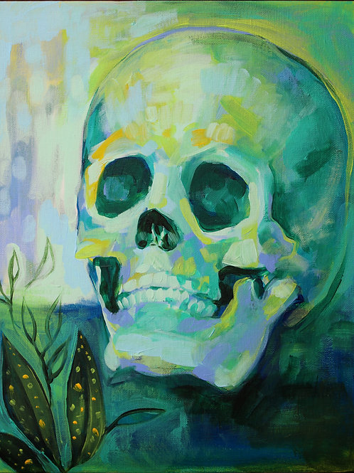 'green study in skulls and croton'