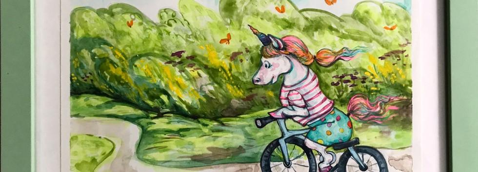 Ollie the unicorn framed.jpg