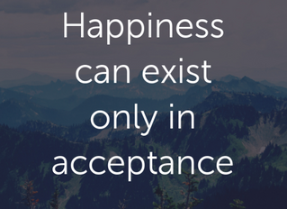 Acceptance is a Gift that Gives Back