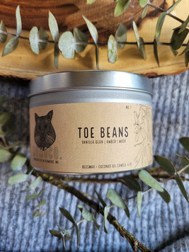 """""""Toe Beans"""" Candle"""