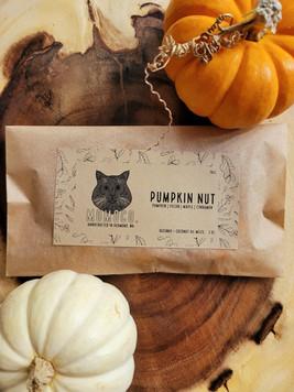 """Pumpkin Nut"" Paw Melts"