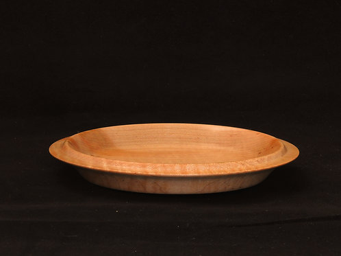 Shallow Candy Dish of Curly Maple Wood