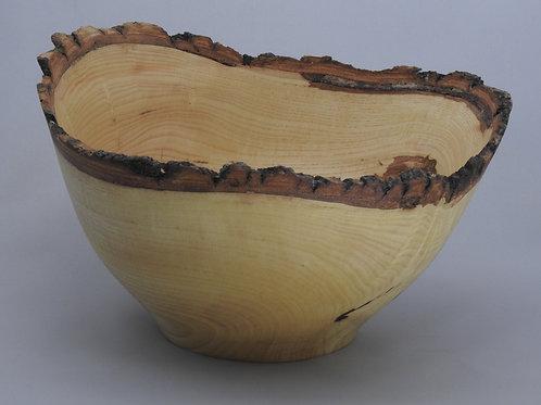 Ash Bark Edge Bowl