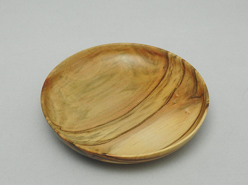 Small Ambrosia Maple Wood Key Bowl