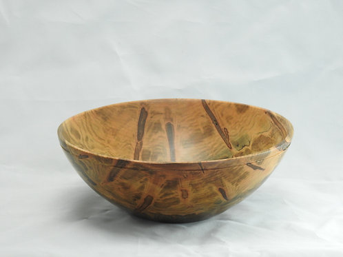 Ambrosia Maple Wood Salad Bowl with Spalting