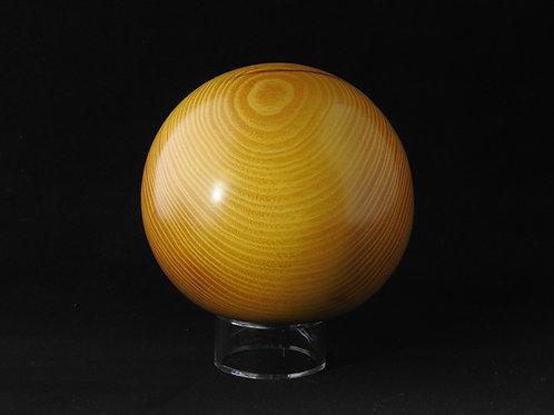 Artistic Wood Sphere of Osage Orange