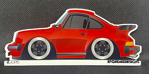 Porsche 911SC Sticker