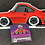 Thumbnail: Widebody Datsun 260Z and Porsche 911 SC Pin and Sticker Combo
