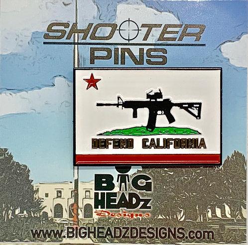 SP-DEFEND CALIFORNIA Pin