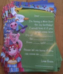 Party Invites | Childrens entertainer