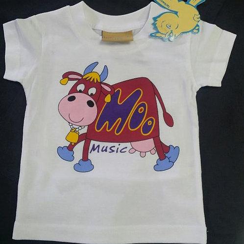 Moo Music Children's Tshirt's