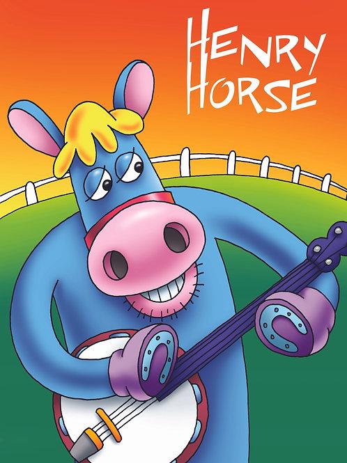 Moo Music Henry Horse CD