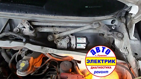 Ремонт мотора OPEL стеклоочистителя (дво