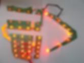 Светодиодная LED фара правая задняя