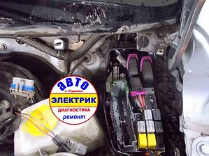 Opel Corsa - _Ремонт омывателя Заднего с