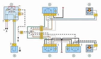 Схема электростеклоподъёмников.webp