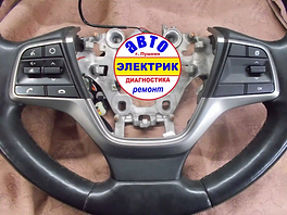 Hyundai - мультимедийный руль