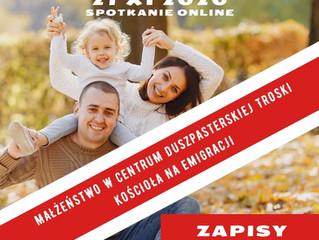 Kongres Rodzin Polonijnych on-line 21.11.2020