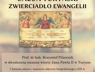 wykład prof. Krzysztof Pilarczyk CAŁUN TURYŃSKI
