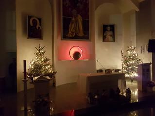 Boże Narodzenie w kościele w Swindon