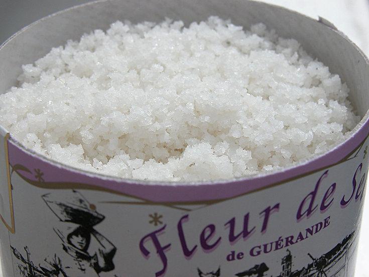 Fleur de sel (Salt of Guerande, France)
