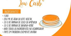 Receita: Panqueca Low Carb