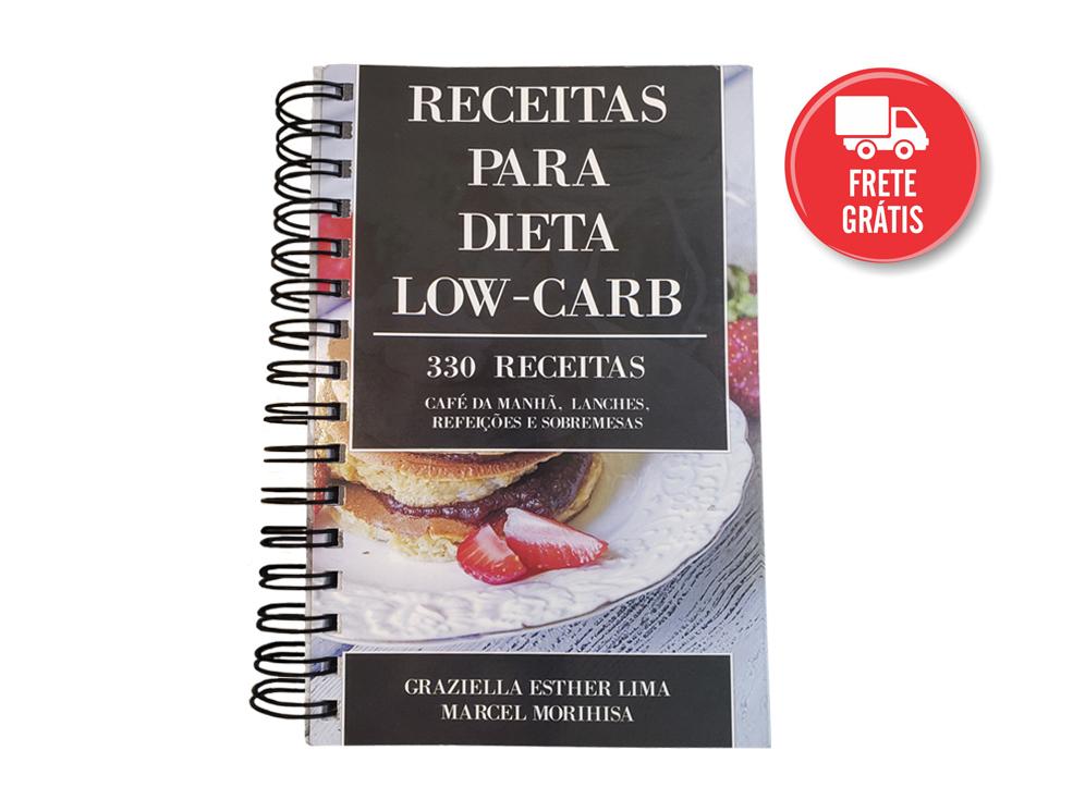 livro de receitas low carb